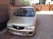 Golden Colour Suzuki Alto LXI For Sale In Allahabad -