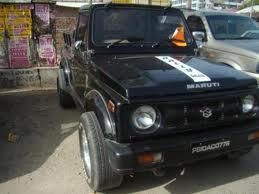 Maruti Suzuki Gypsy OLD BLACK, Registration  - Bhuj