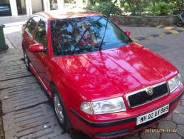 Red Color Skoda Ambence For Sale - Jabalpur