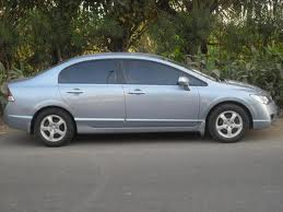 Silver Color Honda Civic For Sale - Asansol