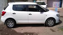 Skoda Fabia 1.2 MPI WHITE - Bhilai
