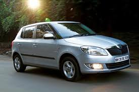 Skoda Fabia 1.2 MPI WHITE, Registration: - Gujarat