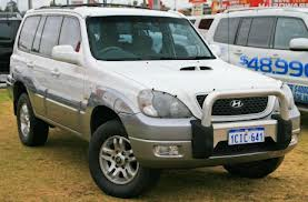 White Color Hyundai Terracan CRDi - Jodhpur