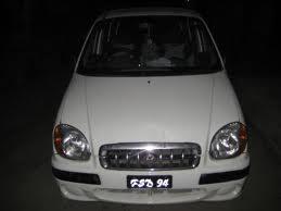 White Colour Hyundai Santro For Sale In Bhuj - Bhuj