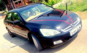 New condition honda accord  model top model Automatic