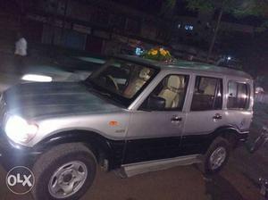My Scorpio mh-11-H- satara passing car full