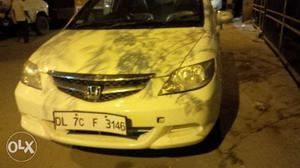 Honda City Zx petrol along with sequential cng on paper