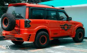 mahindra scorpio top model modified by agm cozot cars. Black Bedroom Furniture Sets. Home Design Ideas