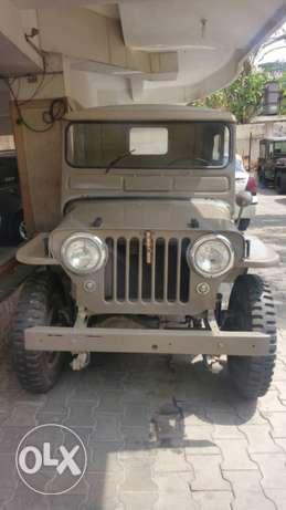 willys jeep 1950 cj3a bonnet excellent condition sale