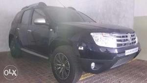 Black Duster SUV