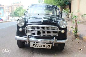 Vintage Fiat  Model, Black Colour In Original And