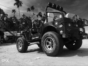 Willys Short Chassis Jeep