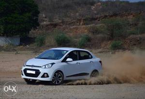 Hyundai Xcent diesel  Kms