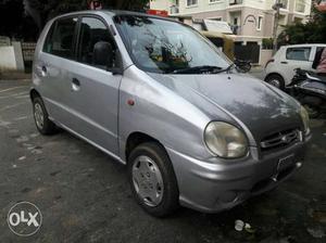 Santro Zip Drive petrol  Kms  year Single owner Gud