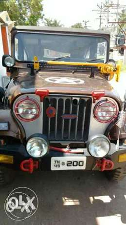 Mahindra mm540 jeep Second owner  model Good