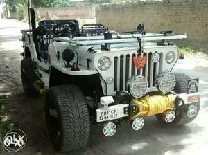 Fully modified willy jeep by kuldeep modified