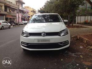 VW Polo Highline Diesel 1.5 White, Single Owner, kms