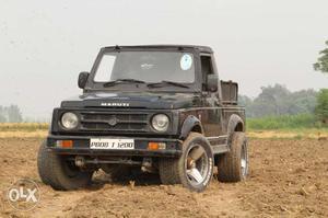 Maruti Suzuki Gypsy lpg  Kms 4x4 ac 18 inch tyre