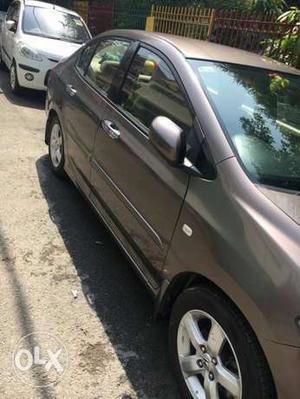 Dl no automatic top end model Honda City petrol  Kms