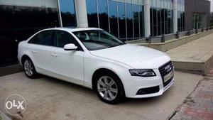 Audi A4, white in Gurgaon