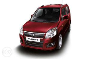 Sale wagonR Aug- passing red color