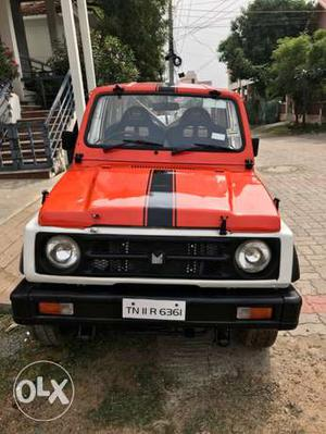 Maruti Gypsy king mpfi complete rally spec
