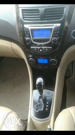 hyundai verna white colour in very good   Cozot Cars