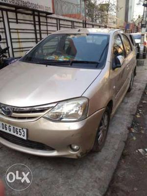 Toyota Etios petrol  Kms