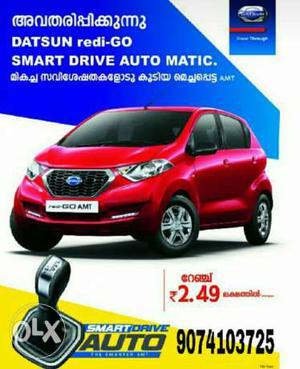 Nissan Datsun Redi Go petrol 11 Kms