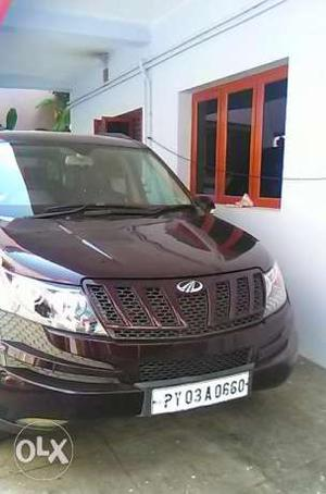 PY (Pondicherry) XUV 500. Single owner Topend W8