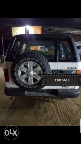 UNICEF Discarded Vehicle ISUZU TROOPER 4x4 In