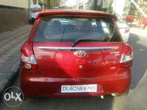 Toyota Etios Liva cng  Kms
