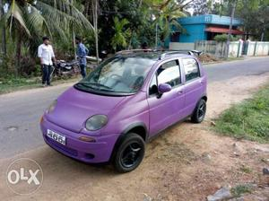 Fully modified MATIZ with alloy wheels spoilers