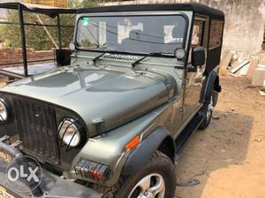 Mahindra Thar AC cRDI 4x4 diesel only  km done