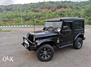 Jeep 4x4 black colour A/C hard top fully loaded