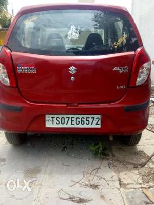 Alto 800 LXi Red color  Feb Model
