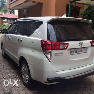 Toyota Innova crysta 2.7 zx automatic petrol  Kms