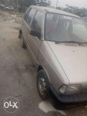 Maruti Suzuki 800 petrol  year