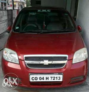 Chevrolet Aveo cng  Kms