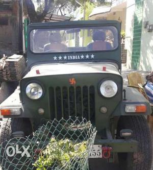 Jeep Mahindra Fully Modified