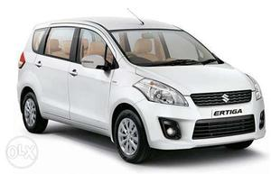 Maruti Ertiga on rent on Kilometer Basis for any where in
