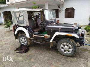 Willy's Jeep Mahindra Full Modified,well
