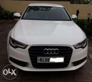 Audi A6, White, Diesel,  make, kms