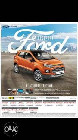 Ford Ecosport petrol  Kms