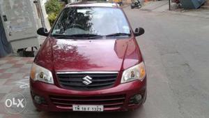 , Maruti Alto K10 vxi, single owner, wine red colour,