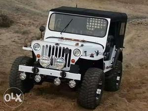 Open jeeps closed all type hard top a.c automatic