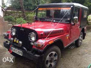 Mahindra Jeep mm540 modified,full condition.Rate