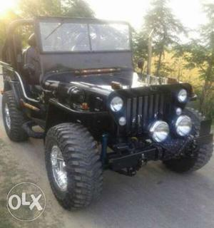 Jeeps ready with smart look we provide in all