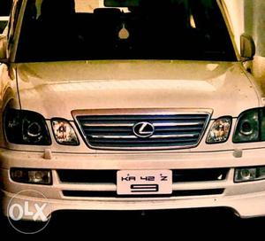 Well maintained Lexus LX 470 Diesel