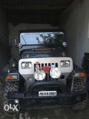 Mahindra jeep fully modified. Urgent sale need money